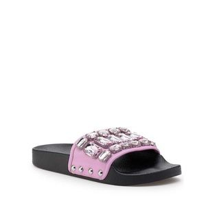 NIB Botkier Freda Crystal Slide Sandal
